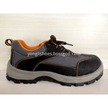 Swede Leather Safety Shoes WMN-309