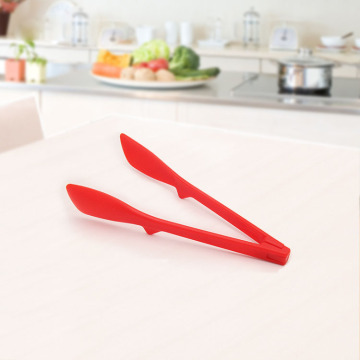 Red Nylon  Tong for Kitchen