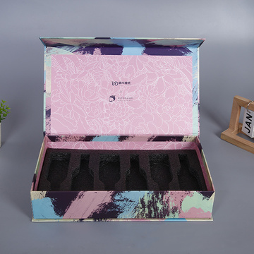 Cosmetic paper box perfume liquid bottle packaging box