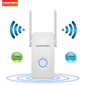 COMFAST 1200Mbps high speed WIFI Repeater Dual Band 2.4&5G WiFi Signal Amplifier 802.11ac Wireless Router booster CF-WR752AC V2