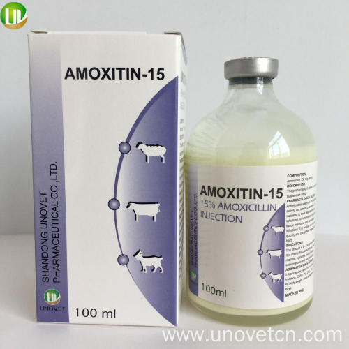 15% Amoxicillin Injection for Veterinary