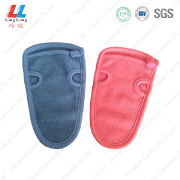 Artificial united little bath gloves