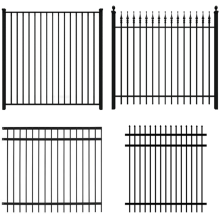metal fence for yard