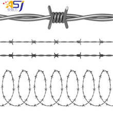 double strands galvanized barb wire price per meter