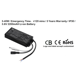 CB certificate Li-ion Battery LED Emergency Driver