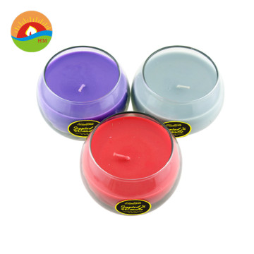 Changing Color Tea Light Led Stained Glass Candles