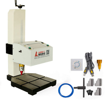 Touch Screen CNC Pneumatic Dot Peen Logo Stainless Steel Jewelry engraver