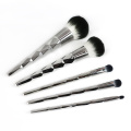 Sliver diamond unicorn 5 pcs kuas makeup