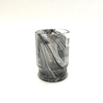 popular grey color tumbler glass cup for water
