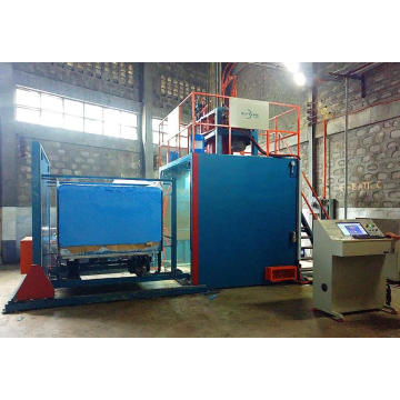 Automatic batching sponge vacuum machine