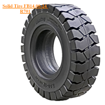 Solid Skid Steer Tyre FB14.00-24 R701 No Holes
