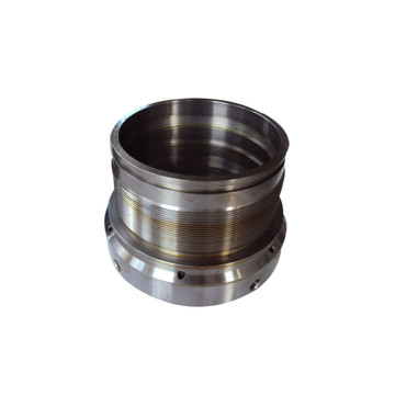 Machined Steel Hydraulic Cylinder Retainer Parts