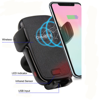 Bestes QI Wireless Iphone Autoladegerät