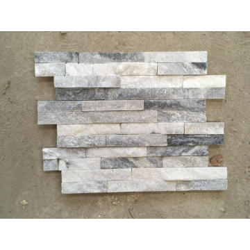Outside wall cladding gray quartz thinner panel