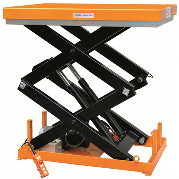 Fixed hydraulic mini scissor lift platform