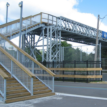 Steel Structure Pedestrian Bridge for Sale