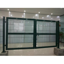 high security weld wire mesh fencing steel gate