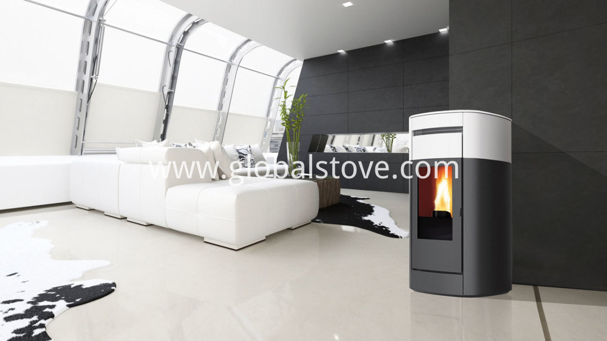 The cheapest pellet stove