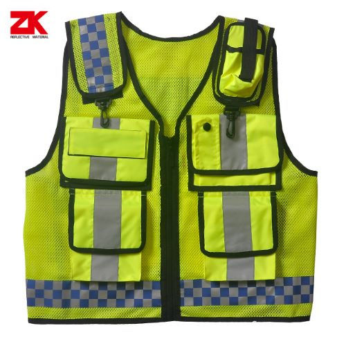 High visibility fireproof warning jacket