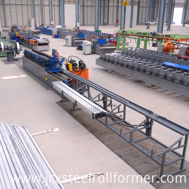 CU track and stud roll forming machine