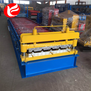 Galvanized roof panel metal sheets roll roofing machine