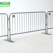 Galvanized Traffic Barrier Safety Crowd Control Barrier