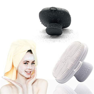 Custom Food Grade Silicone Facial Cleansing Brush