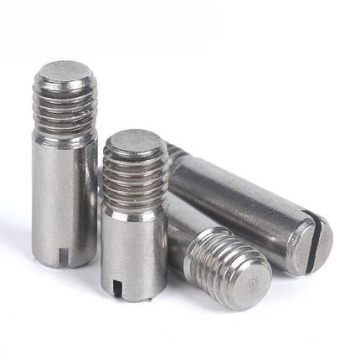 Stainless Steel Slotted Headless Screws With Shank
