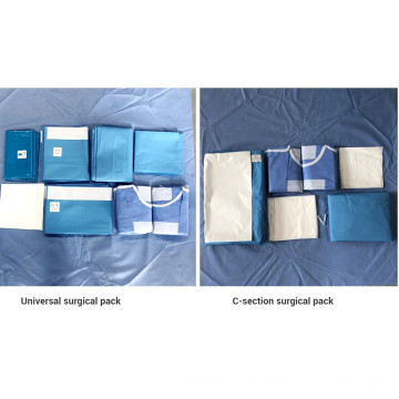 Disposable Medical Non Woven Surgical Angiography Pack