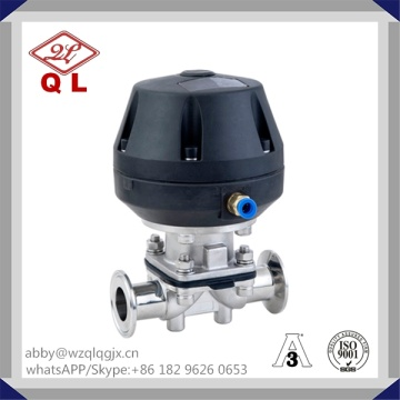 304/316L Stainless Steel Sanitary Diaphragm Valve