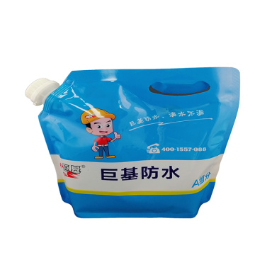 Custom plastic stand-up bags for K11 waterproof slurry