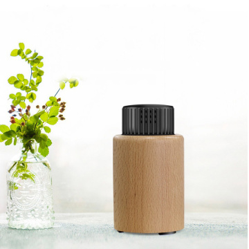 Car Mini Portable Usb Wooden Aroma Oil Diffuser