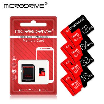 Class 10 Red Memory card 4GB 8GB 16GB 32GB Micro sd card 64GB Tarjeta microsd 32 gb Mini flash drive TF card with Free adapter