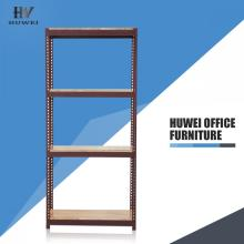 Steel slotted angle industrial shelving racks