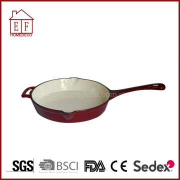 Cast Iron Skillet With Enamel