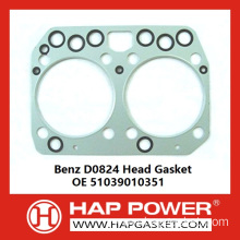 Benz D0824 Head Gasket OE 51039010351