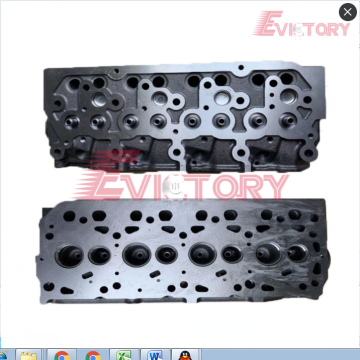 S4D95L cylinder head block crankshaft connecting rod