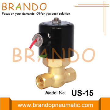 1/2'' US-15 Uni-D Type Steam Brass Solenoid Valve