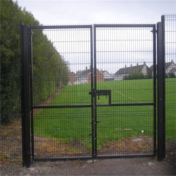 galvanized welded wire mesh metal garden fence gate