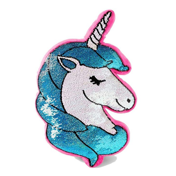 MULTI FLIP UNICORN SEQUIN PILLOW-0