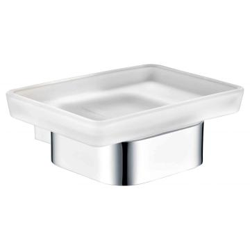 Shower soap dish brass chrome