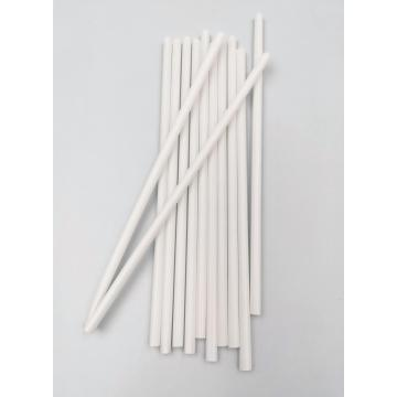 100% Biodegradable Disposable Stright White Straws