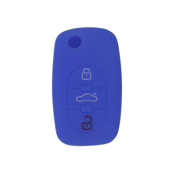 silicone rubber protective key cover for Audi