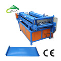 Mobile clip lock standing seam roof roll former