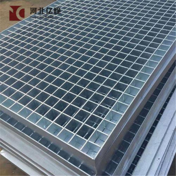 Hot-dipped galvanized steel grating with plain bar