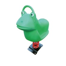 Frog Shape Spring Riders