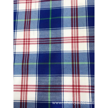T/C(20%Cotton80%Polyester)Yarn-dyed Bamboo Plaid Fabric