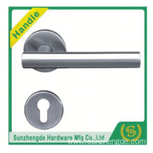 SZD STH-109 brush ss304 high quality stainless steel double sided doorhandle on panel
