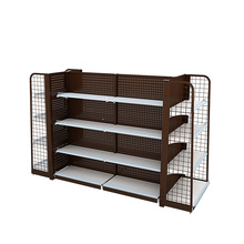 Supermarket And Retail Backhole Display Shelving