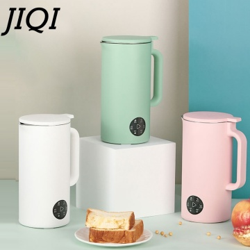 JIQI 350ML Automatic Soy Milk Machine Mini Fruit Juicer Vegetable Extractor Food Blender Filter Free For Home Soybean 110/220V